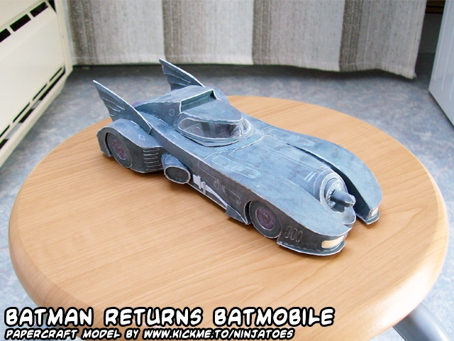 Batmobile papercraft
