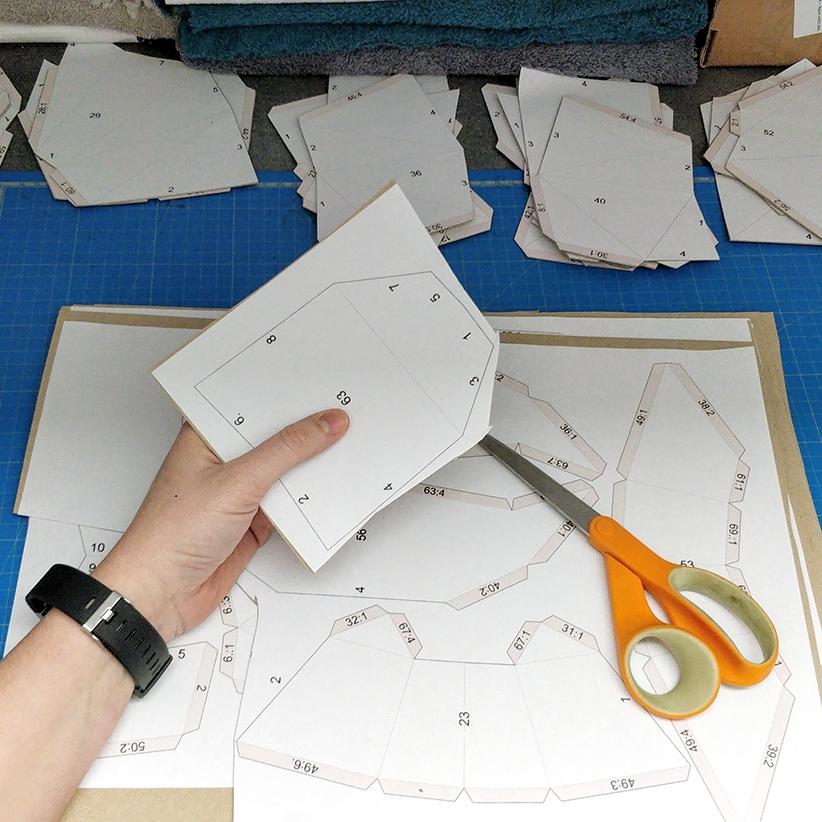 Papercraft - Pré-découpe des pièces