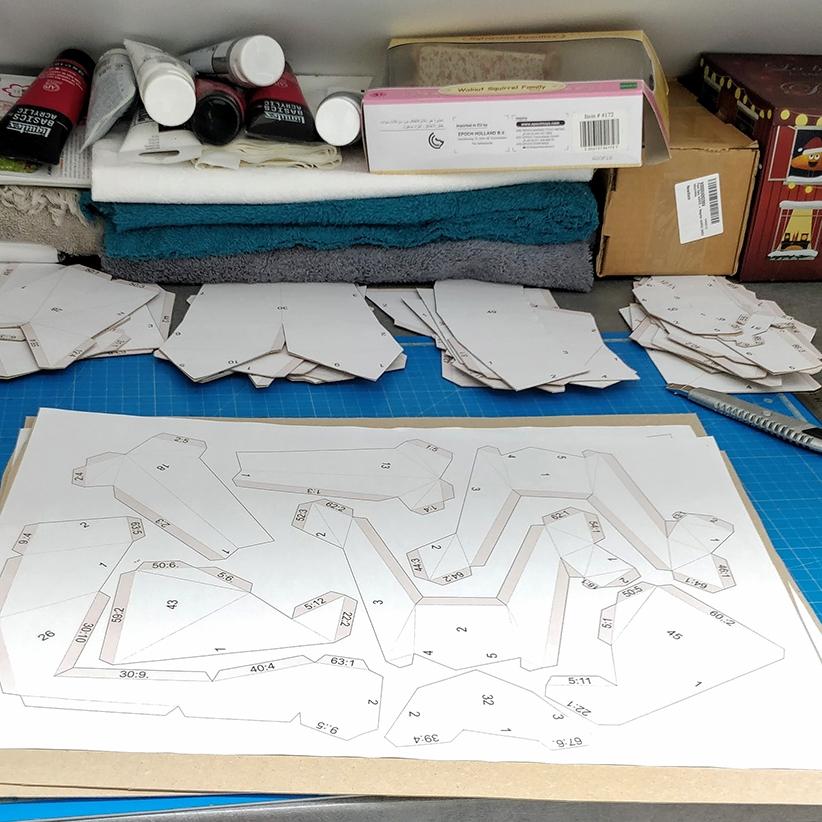 Papercraft - Maquette à couper