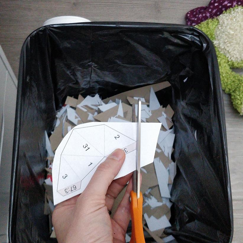 Papercraft - Découpe des pièces