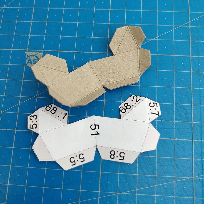 Papercraft - Pliage des pièces