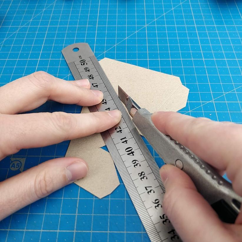 Papercraft - Marquage de plis