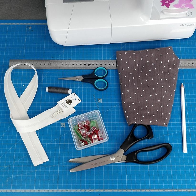 Tutoriel couture gratuit : Gigoteuse d'été