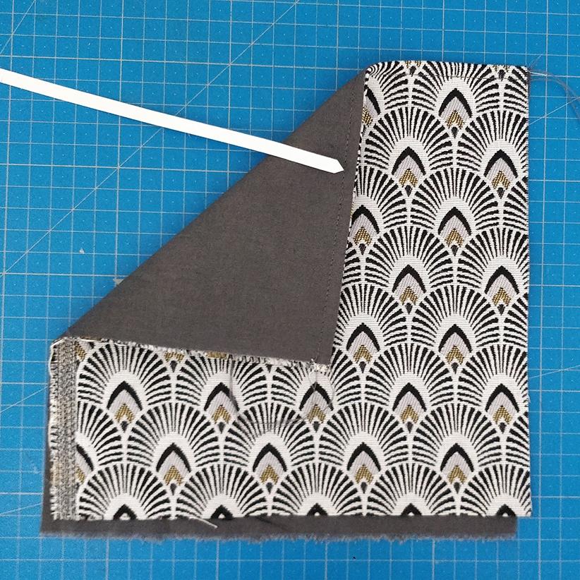 sac Georges pochette 1 deuxième couture