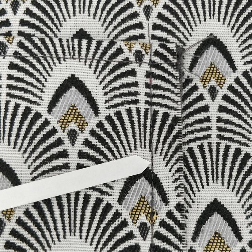 sac Georges Couture des côtés de la poche simple