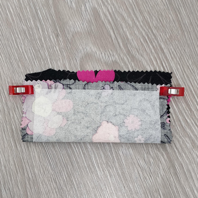 trousse enfant : bordure pliage