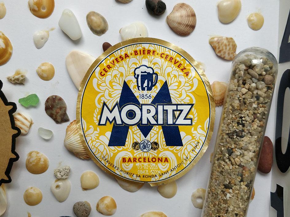 cadre vacances Barcelone bière